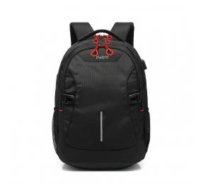 Mochila Ewent EW2526 Notebook Backpack 15.6 Preta com Porta USB