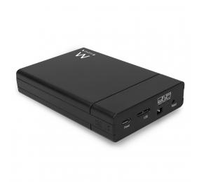 "Caixa Externa 2.5"" Ewent EW7043 USB 3.2 Gen1 USB-C Dual SATA HDD/SSD c/ Suporte RAID"