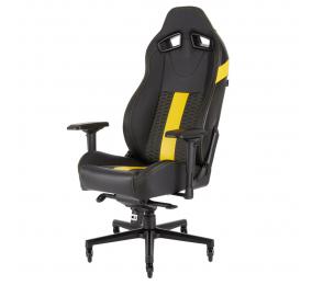 Cadeira Gaming Corsair T2 Road Warrior Preta/Amarela