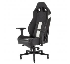 Cadeira Gaming Corsair T2 Road Warrior Preta/Branca