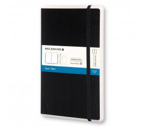 Caderno Grande Ponteado Moleskine Paper Tablet Preto