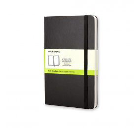 Caderno de Bolso Liso Moleskine Clássico Preto
