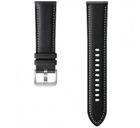 Bracelete em Pele Samsung Galaxy Watch 3 (20mm) Preta S/M