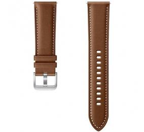Bracelete em Pele Samsung Galaxy Watch 3 (20mm) Castanha S/M