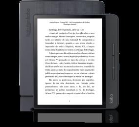 """eReader Kobo Forma 8"""" 8GB Wi-Fi Preto"""