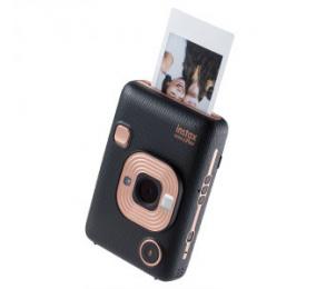 Máquina Fotográfica Instantânea Fujifilm Instax LiPlay Elegant Black Bundle