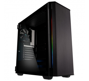 Caixa Extended-ATX Kolink Refine RGB Vidro Temperado Preta