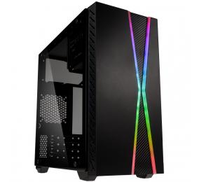 Caixa Micro-ATX Kolink Inspire K3 ARGB Vidro Temperado Preta