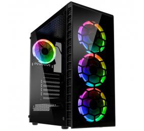 Caixa ATX Kolink Observatory Lite RGB Vidro Temperado Preta