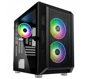 Caixa Micro-ATX Kolink Citadel Mesh RGB Vidro Temperado Preta