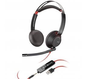 Headset Plantronics Poly Blackwire 5220 USB-A