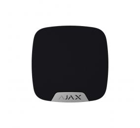 Sirene Interior Ajax HomeSirene c/ Led de Sinalização e Sensor de Temperatura Preto