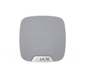 Sirene Interior Ajax HomeSirene c/ Led de Sinalização e Sensor de Temperatura Branco