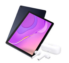 Bundle Xmas 2020   Huawei MatePad T10s 2GB/32GB Azul + Freebuds 3i Brancos