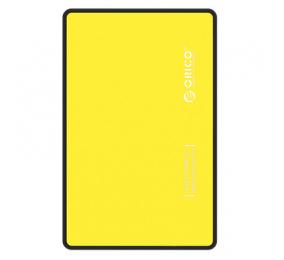 "Caixa Externa 2.5"" Orico 2588US3-V1 SATA I/II/III para USB 3.0 Micro-B Amarelo"