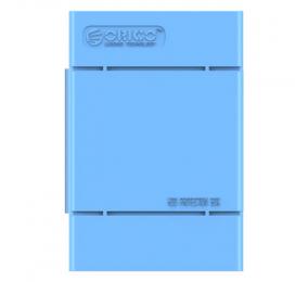 """Caixa de Proteção Orico PHP35-V1 para HDD 3.5"""" Azul"""