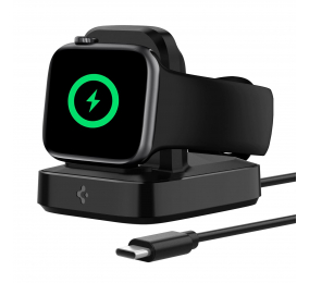 Carregador Wireless Spigen Apple Watch ArcField Preto