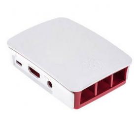Caixa Vermelha/Branca Raspberry Pi B+/Pi 2B/Pi 3B