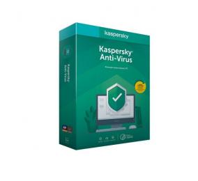 Software Kaspersky Anti-Virus 2020 1 User 1 Ano