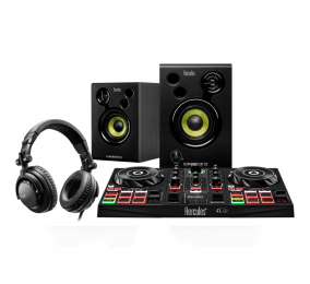 Conjunto DJ Hercules DJ Learning Kit