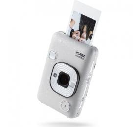 Máquina Fotográfica Instantânea Fujifilm Instax LiPlay Stone White Bundle