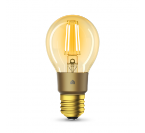 Lâmpada TP-Link KL60 Kasa Wi-Fi Smart Bulb Filamento LED Âmbar