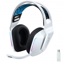 Headset Logitech G733 Lightspeed Wireless RGB League of Legends KDA Gaming
