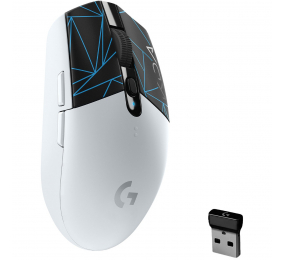 Rato Óptico Logitech G305 LightSpeed Wireless 12000DPI League of Legends KDA Gaming