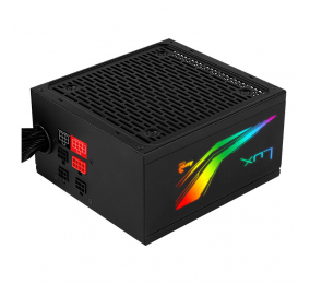 Fonte de Alimentação Aerocool Lux RGB 850M 80PLUS Bronze Semi Modular