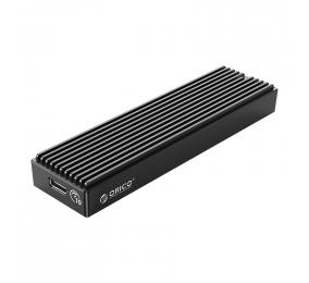 Caixa Externa M.2 Orico M2PV-C3 SSD M.2 NVMe USB 3.1 Type-C Preta