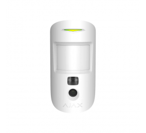 Detetor Pir Ajax Bidirecional MotionCam c/ Câmara Wireless Branco