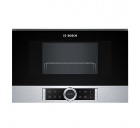 Micro-ondas de Encastre Bosch Serie | 8 BER634GS1 60x38cm 900W 21 Litros Inox