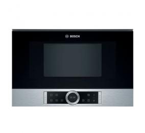 Micro-ondas de Encastre Bosch Serie | 8 BFR634GS1 60x38cm 900W 21 Litros Inox