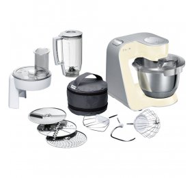 Robot de Cozinha Bosch MUM5 CreationLine MUM58920 1000W Bege/Prateado