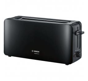 Torradeira Bosch Long Slot Toaster ComfortLine TAT6A003 1090W Preta