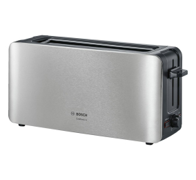 Torradeira Bosch Long Slot Toaster ComfortLine TAT6A803 1090W Inox