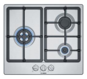 Placa a Gás Bosch Serie | 4 PGC6B5B90 60cm Inox