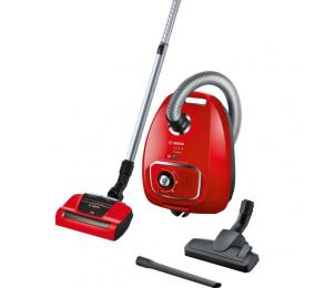 Aspirador Bosch Serie   4 ProAnimal Com Saco 600W Vermelho