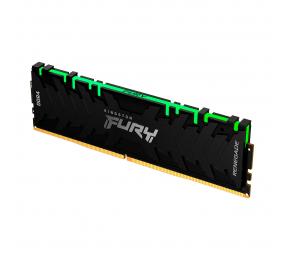 Memória RAM Kingston Fury Renegade RGB 8GB (1x8GB) DDR4-3600MHz 1R CL16 Preta