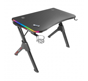 Secretária Gaming Mars Gaming MGD RGB Gaming Desk Preta