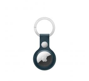 Porta-Chaves Pele para Apple AirTag Azul Báltico