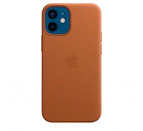 Capa Pele Apple iPhone 12 Mini MagSafe Castanho Sela