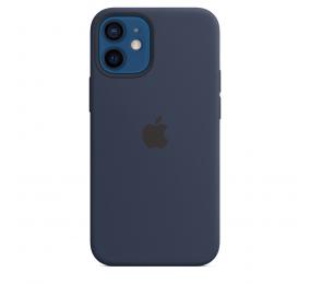 Capa Silicone Apple iPhone 12 Mini MagSafe Azul Profundo