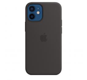 Capa Silicone Apple iPhone 12 Mini MagSafe Preta