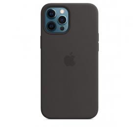 Capa Silicone Apple iPhone 12 Pro Max MagSafe Preta