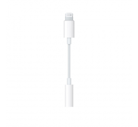Adaptador Apple Lightning para Auscultadores de 3,5 mm