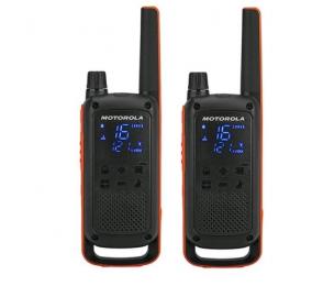 Walkie Talkie Motorola TLKR T82 (8 Canais, 10Km) - Pack 2