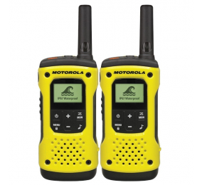 Walkie Talkie Motorola TLKR T92 H2O Waterproof (16 Canais, 10Km) - Pack 2