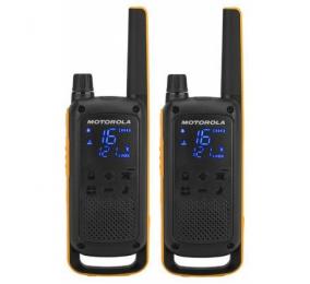 Walkie Talkie Motorola TLKR T82 Extreme (16 Canais, 10Km) - Pack 2