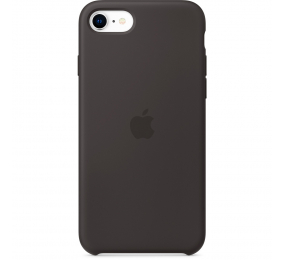 Capa Silicone Apple iPhone SE Preta